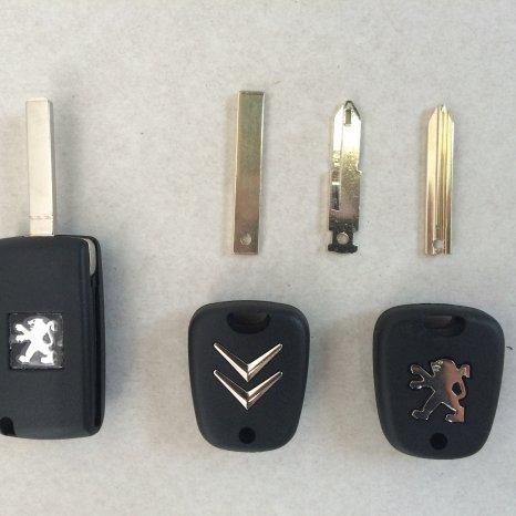 Carcasa cheie Peugeot/citroen