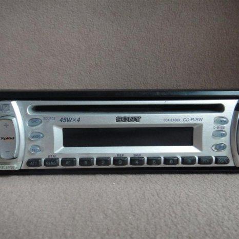 Vand radio casetofon cd Sony 4x45w
