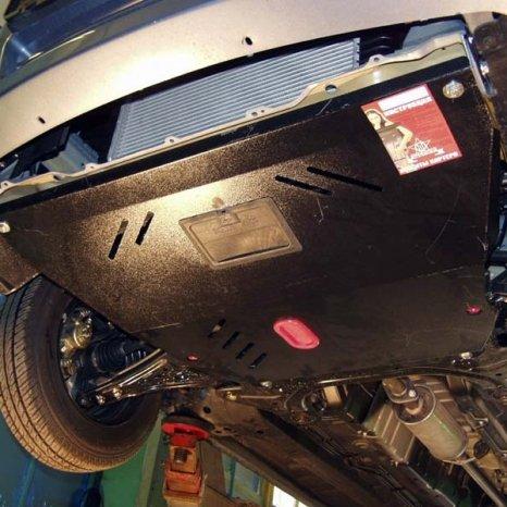 Scut motor din otel Chevrolet Aveo