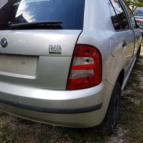 Dezmembrez  Skoda Fabia, 1.4 benzina, 2002, hatchback, motor