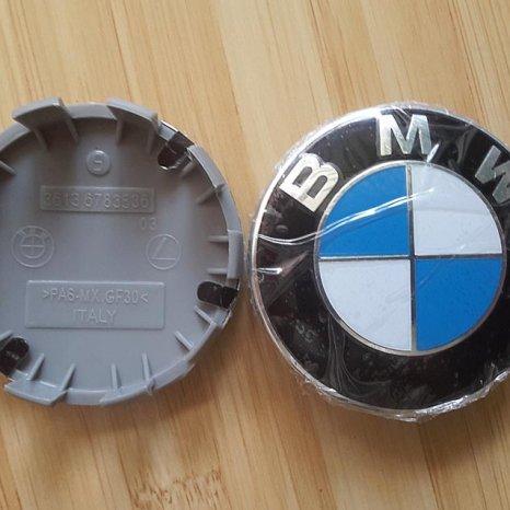 Capacele jante aliaj NOI ORIGINALE BMW 68 mm cu 10 picioruse