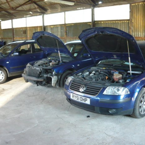 Vand bara spate VW PASSAT 2001 - 2005