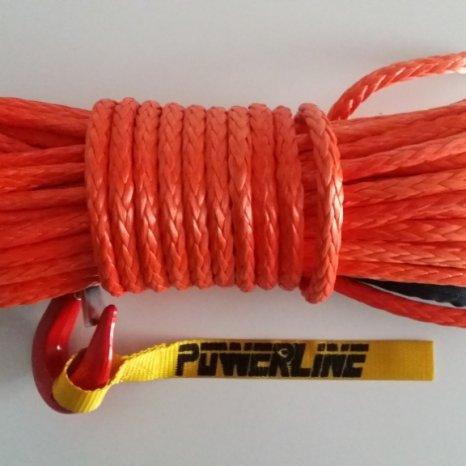 OFF-ROAD.Cablu sintetic,plasma,sufa pentru troliu de 8mm,9mm,10mm