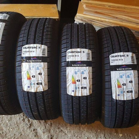 Anvelope Noi 185/60 r14 all season Quatrac5 vredestein
