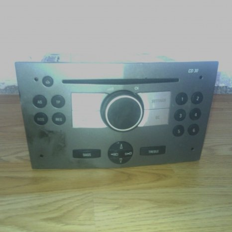cd opel astra H 2005