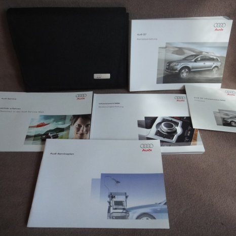 Manuale instructiuni carte service borseta audi q7