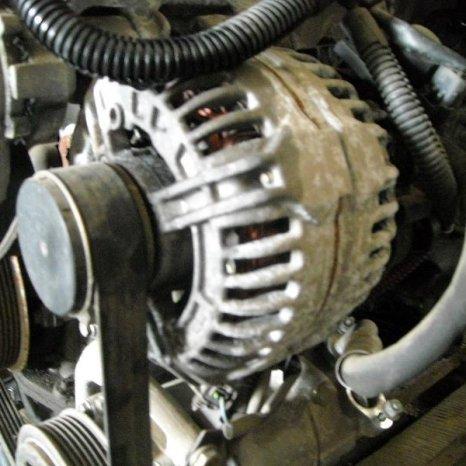 Vand alternator Peugeot 307, 1.6 hdi