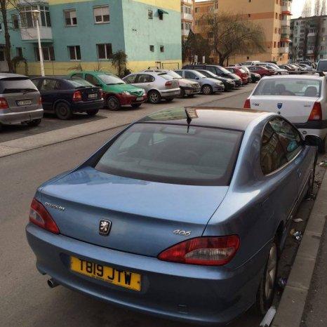 Capota spate Peugeot 406 Coupe