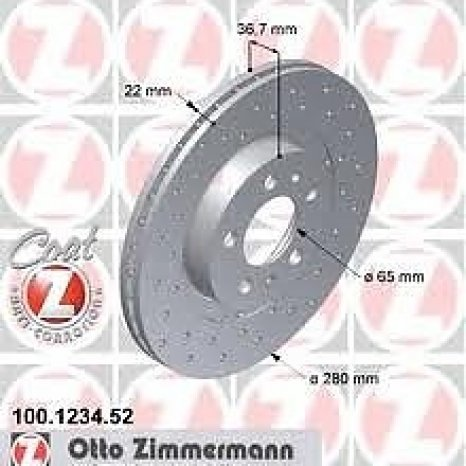 Disc frana Zimmerman sport brake disc coart Z