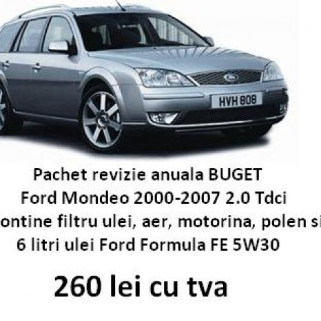 pachet filtre ford mondeo, filtre ford