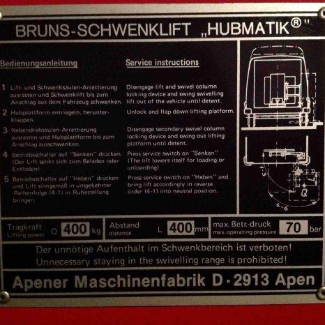 Lift auto - Berger Frankfurt