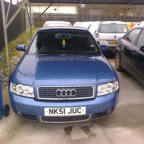 Audi A4, 2001, albastru