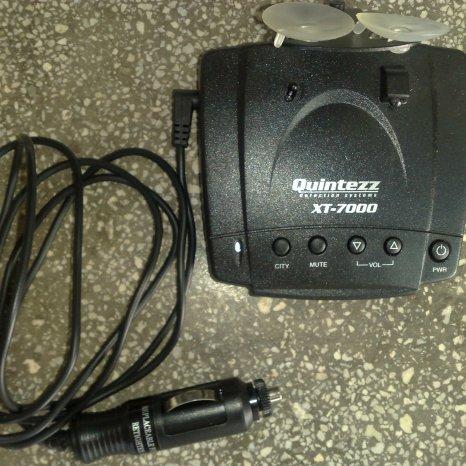 Detector radar Quintezz XT-7000