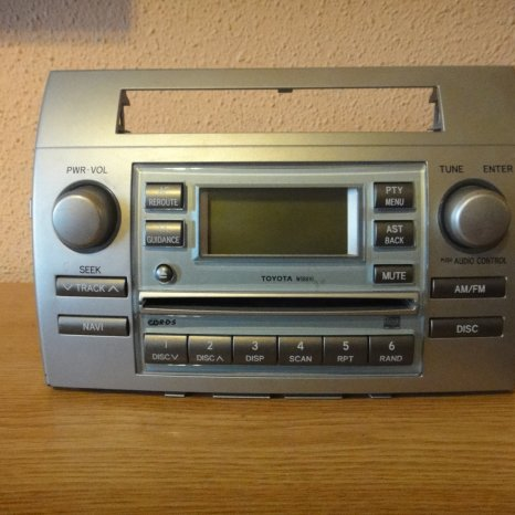 Radio cd player OEM toyota corolla verso