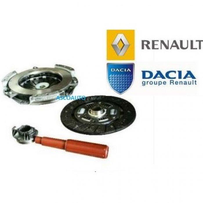 Kit ambreiaj (disc+placa+rulment) Original Dacia / Renault motorizari 1.2 , 1.4MPI