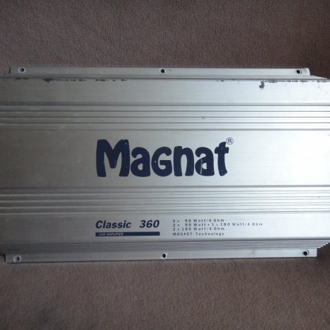 Amplificator statie auto Magnat Classic 360 subwoofer