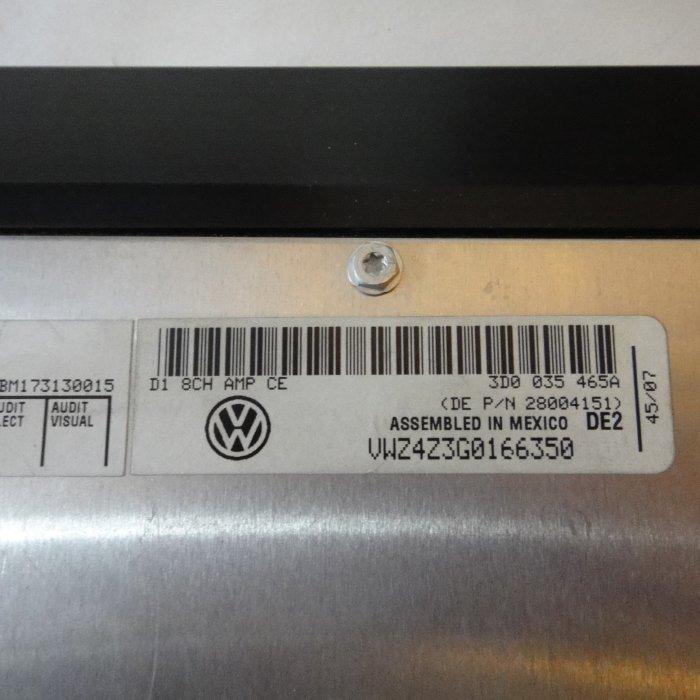 Amplificator OEM DSP Volkswagen Passat b6 Touran Touareg Phaeton 3D0035465A