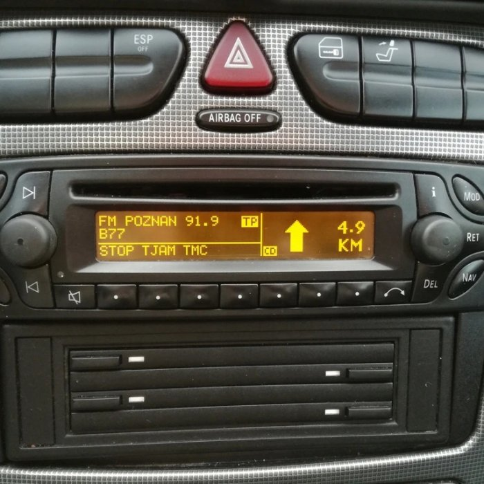 Radio Cd player Navi Mercedes Audio 30 APS Vito Viano C class