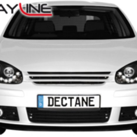 Faruri DAYLINE VW Golf V 03-09 HID negru