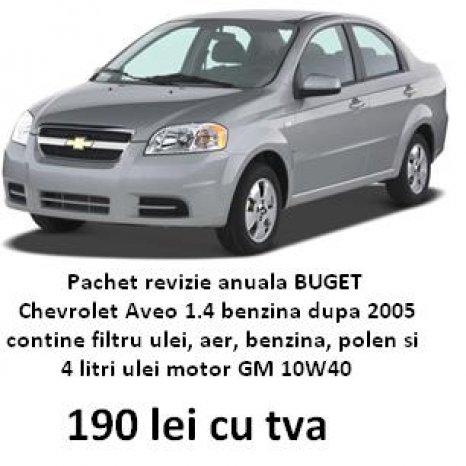 Pachet revizie Chevrolet Aveo