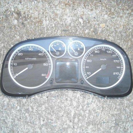 Vand ceasuri bord Peugeot  307, 1.6 hdi