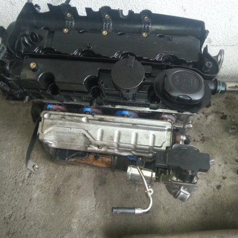 Dezmembrez Motor Bmw 520 diesel
