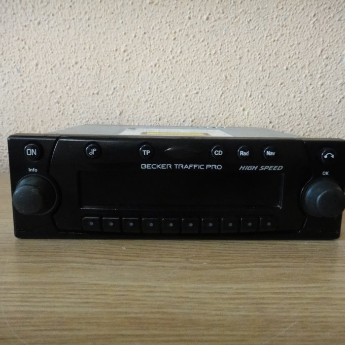 Radio cd player navigatie becker traffic pro aux