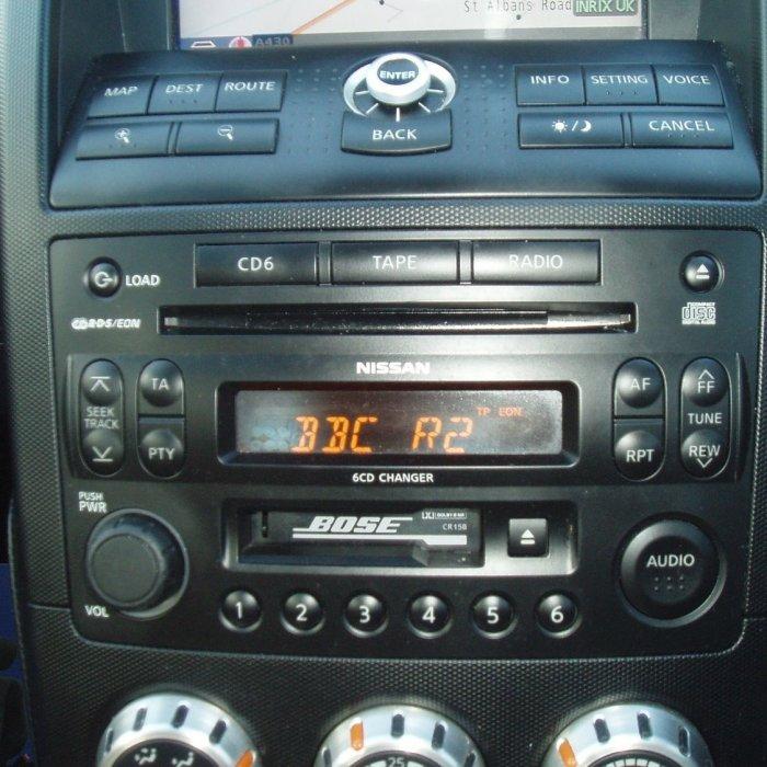 Radio Cd Player Nissan 350Z BOSE  Radio Cd Player Nissan 350Z BOSE