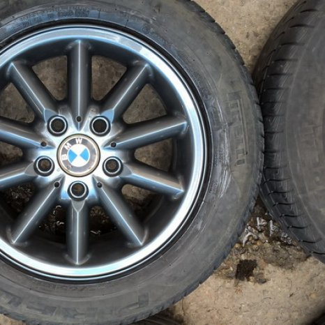 Roti BMW -15-5x120- jante+ cauciucuri 195/65/15 de vara