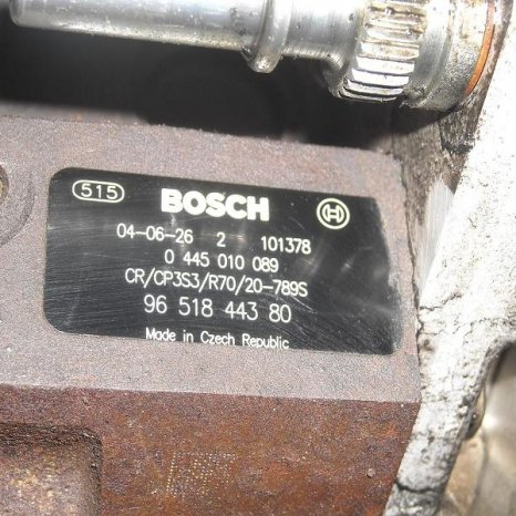 Vand pompa injectie Peugeot  307, 1.6 hdi, 109 cp