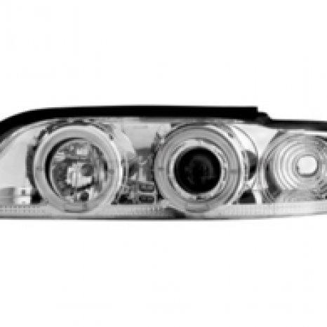 Faruri BMW E39 5er 95-00 pozitie angeleyes chrom Nou