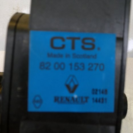 pedala acceleratie 8200153270 RENAULT MEGANE 2
