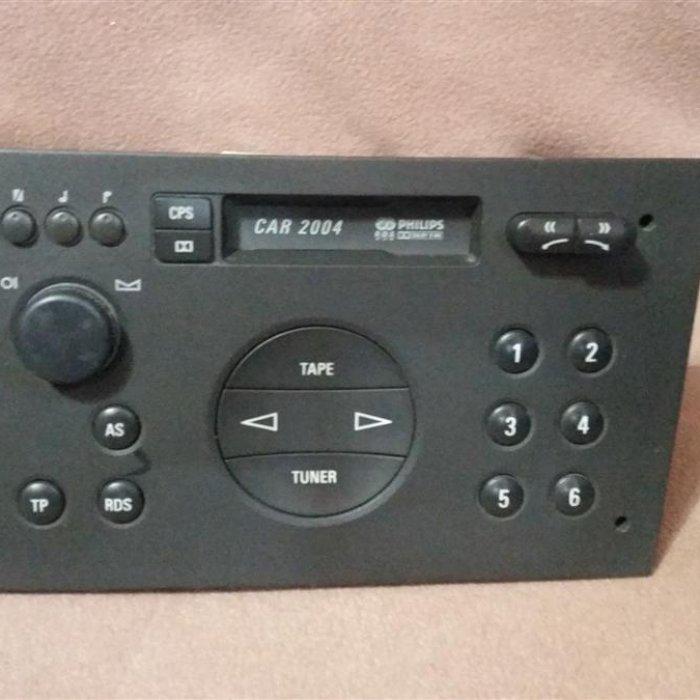Radio casetofon opel corsa c agila car2004