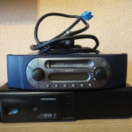 Magazie Cd 6disc Pentru Smart Fortwo Forfour