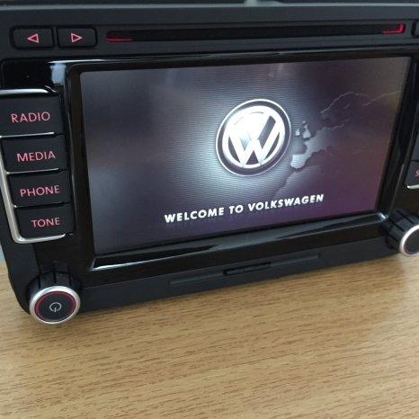 Navigatie RNS 510 MFD3 Originala VW ecran LCD