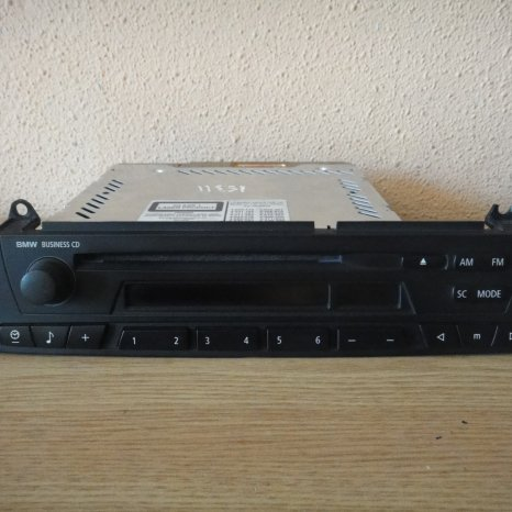 RADIO CD PLAYER ORIGINAL BMW X3 Z4 BUSINESS