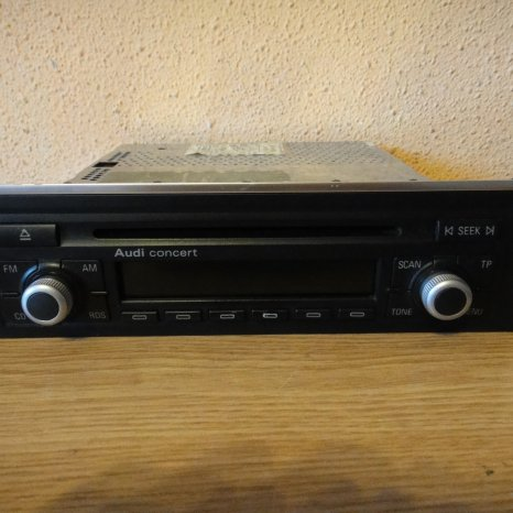 Radio cd-player OEM Audi Concert A4 B6 B7 2002-2009