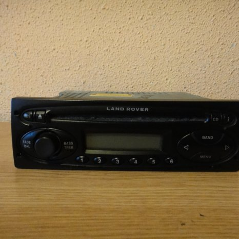 Radio Cd Player OEM  Land Rover 6500 cd europe
