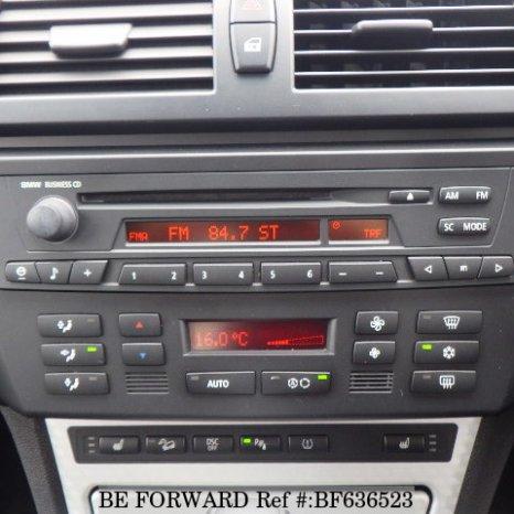 RADIO CD PLAYER ORIGINAL BMW X3 Z4 BUSINESS