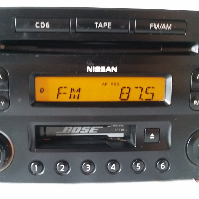 Radio Cd Player Nissan 350Z BOSE  Radio Cd Player Nissan 350Z BOSE