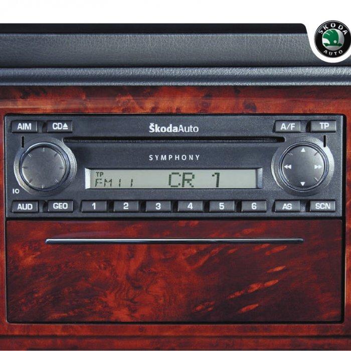 Radio Cd Player symphony Skoda Octavia Superb