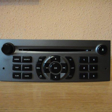 Sistem audio Peugeot 407 Citroen c5 RD4 N1