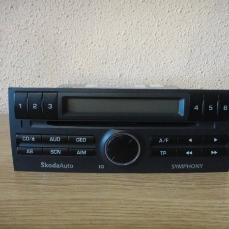 Radio Cd Player OEM Skoda Fabia 1