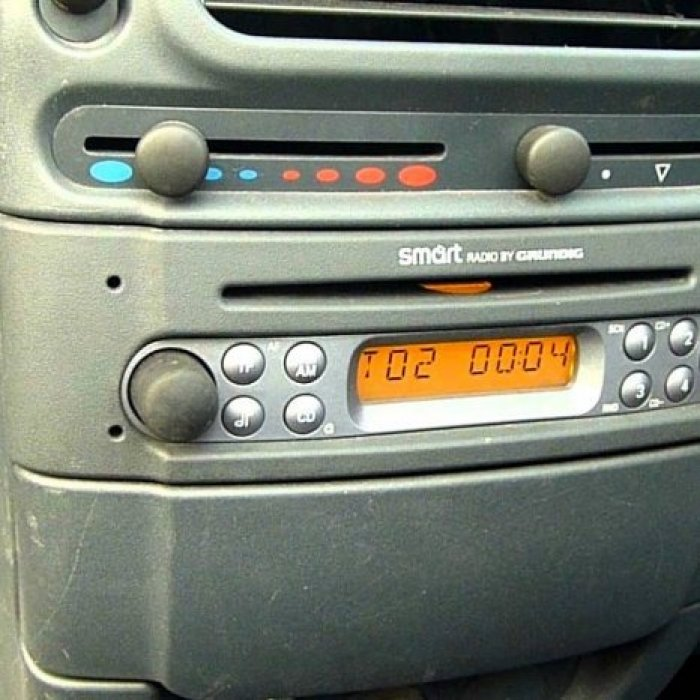 Radio Cd Player Original Smart Fortwo
