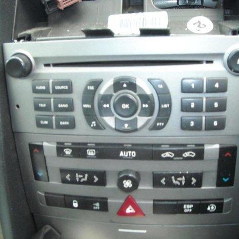 Vand radio cd Peugeot  407