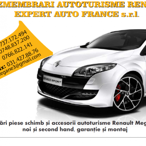 Dezmembrari Renault Megane 3 (2009-2015)