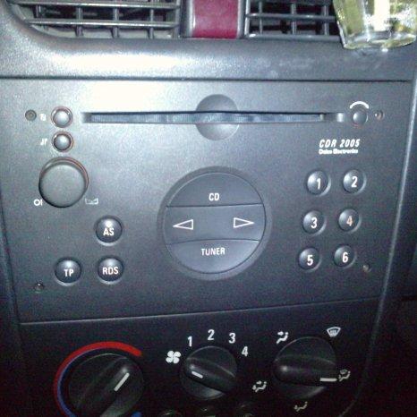 Radio Cd OEM Opel Vectra C Corsa Siemens Cdr2005