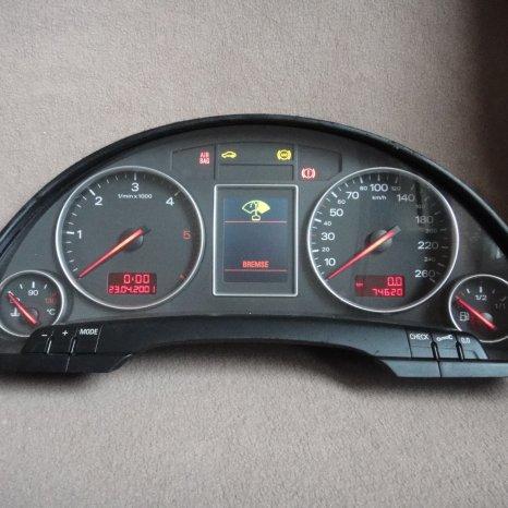 Ceasuri bord display audi A4 b6 b7