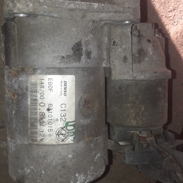 electromotor fiat punto motor 1.2 benzina  an 2001 cod E80 F 63101015 in stare buna