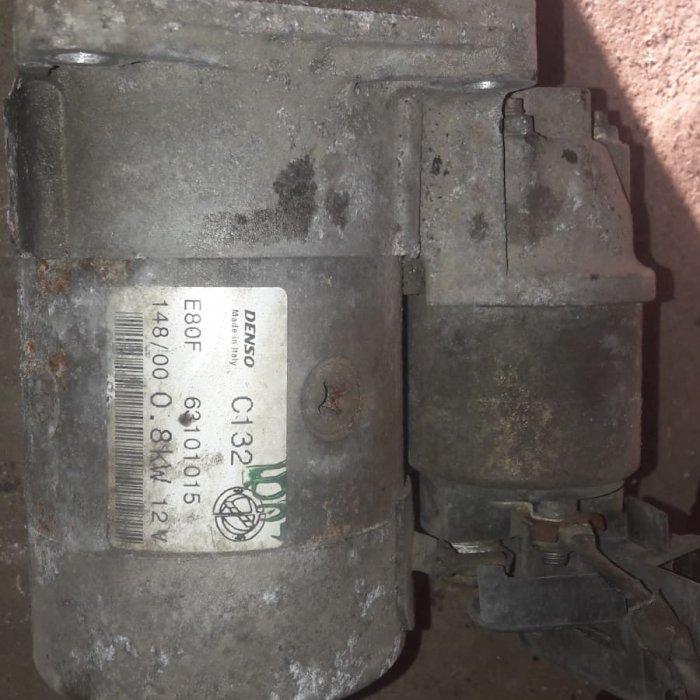 electromotor fiat punto motor 1.2 benzina  an 2001 cod E80 F 63101015 in stare buna